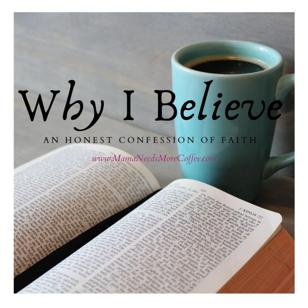 Why I Believe - An Honest Confession of Faith